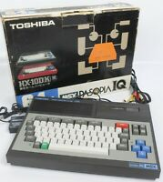 MSX PASOPIA IQ HX-10DP 64K Home Computer Boxed TOSHIBA Tested JAPAN Ref 125607