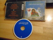 REMASTER Cat Stevens CD Greatest Hits WILD WORLD Moonshadow Father & Son 12trax