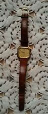 montre Y. Lansac quartz à aiguille 03074 bracelet double daim fait main 14