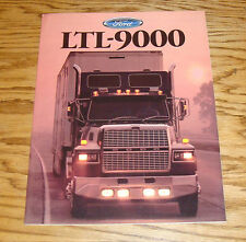 Original 1988 Ford Truck LTL-9000 Sales Brochure 88
