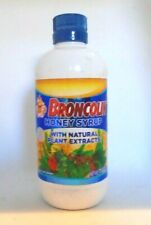 BROCOLIN HONEY SYRUP with PROPOLIS, Natural Plant Extracts, 11.4 oz