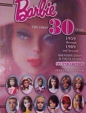 BARBIE DOLL VALUE GUIDE COLLECTOR'S BOOK COLOR PHOTOS HARDBACK