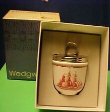 Wedgwood FLYING CLOUD RUST  Double Egg Coddler