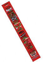 OA Legend Strip Red Felt Background Plastic Back Order of the Arrow Sash