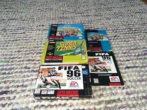 Super Nintendo SNES *Boxes Only* Bundle PAL/NTSC