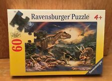 Dinosaurs 60 PC Jigsaw Puzzle by Ravensburger 09528 - NEW Sealed