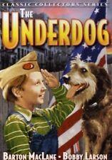 THE UNDERDOG, BARTON MACLANE, BOBBY LARSON, JAN WILEY, CHARLOTTE WYNTERS DVD