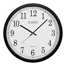 "WT-3143A La Crosse Technology 14"" Atomic Analog Wall Clock NIB"