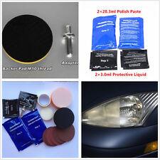 Car SUV Headlight Light Lens Restoration Repair Headlamp Cleaner Polisher Tool