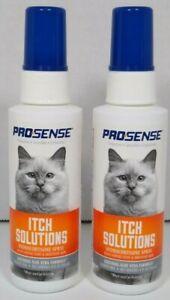 Lot of 2 Prosense Itch Solutions Hydrocortisone Spray w/ Aloe Vera, EXP: 09/23