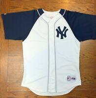 Vintage 90s Majestic New York Yankees Baseball Jersey Sz M MLB Baseball Bronx NY