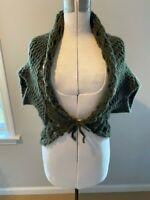 Saldarini for Neiman Marcus knit shrug sweater one size