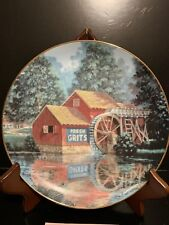 """""""Quiet Reflections"""" Plate From The Hamilton Collection Vanishing Rural America"""