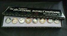 Disney MIB NBC Jack Zero Oogie Sally Shock Lock Mayor Mini Collection 8 Pin Set