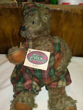 "Cottage Collectible By Ganz Robbie Bear 11"" Plush With Tag"