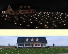 1864 sqft Lawn Lights Illuminated Outdoor LED Christmas 36-08 Warm White, NIB