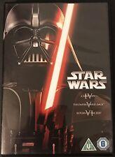 Star Wars Trilogy Dvd New Hope Empire Strikes Back Return Of Jedi Region 2