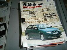 RTA revue technique auto n° 567 Seat cordoba et Ibiza essence et diesel
