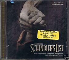 OST Williams, Schindler`s List MCA 24 Karat Gold CD Neu