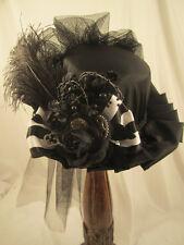 Steampunk Top Hats, Steampunk Shop, Steampunk Wedding, Fascinators, Black