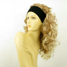 Perruque avec bandeau blond clair cuivré blond clair ref ODESSA en 27T613