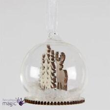 Décorations de sapin de Noël boules en bois pour noël
