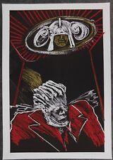 Lithografie Dees de Bruyne - Homme à la Veste Rouge