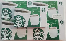2014 ORIGINAL STARBUCKS MINT GIFT CARDS ~COFFEE CUP LOGO~ NO VALUE LOT OF 50