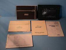 85 1985 Jaguar XJ6 owners manual