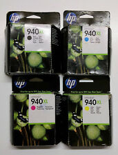 4 x HP 940xl set negro cian magenta amarillo Office Jet pro 8000 8500 a-OVP 2016