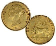 British India 1841 Victoria Gold Mohur in XF/AU condition