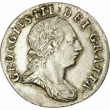 [#485502] Coin, Great Britain, George III, 3 Pence, 1763, AU(50-53), Silver