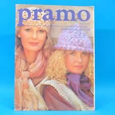 Pramo 11/1982 Praktische Mode Schnittmuster V Puppen Hochzeit Festmode Tagesmode