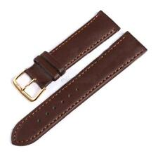 Fashion 8 Sizes Width PU  Leather Watch Band Solid Strap Men Women Watchband