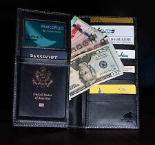 Leather Travel Organizer/Wallet RBD Creations