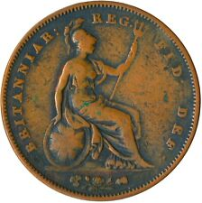 More details for 1855 one penny / queen victoria / nice collectible coin  #wt4823