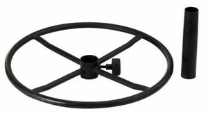 """NEW Alvin Chair Add On Attachment, 21"""" Diameter Black Foot Ring Foot Rest"""