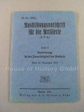 115225,H.Dv. 200/3, AUSBILDUNGSVORSCHRIFT FÜR DIE ARTILLERIE (AVA), Heft 3, 1933