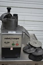 Robot Coupe Cl50 Food Processor with Attachments