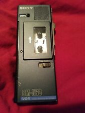 sony microcassette recorder 560 V-O-R Voice Operated Recorder.