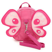 Anti-lost Butterfly Bag Harness Mini Backpacks for Baby Toddler Walking Safety..