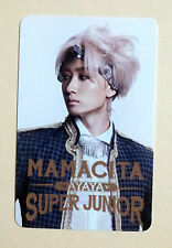 SUPER JUNIOR SJ MAMACITA AYAYA Goods Photo Card Photocard - Eunhyuk