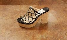 New! Jimmy Choo 'Dalina' Platform Slide Sandals Womens 9.5 US 39.5 Eur MSRP $595