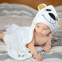 Baby Hooded Towel for Boys & Girls Organic Bamboo Super Absorbent Free Bath Mitt