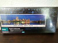 Buffalo Games New York, New York Panoramic Puzzle With Twin Towers Sealed