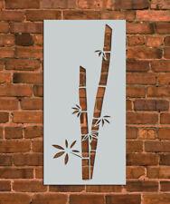 Bamboo Branch Stencil