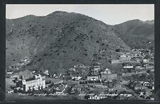 AZ Bisbee RPPC 1940's COURTHOUSE DISTRICT Street TOWN VIEW by Cook No. F-3