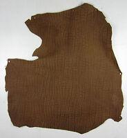 CM1227 1 pelle D'Agnello Nubuck Grano Elefante Marrone Nocciola 2 Tonalità