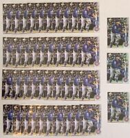 2020 Topps Series 1 - Nico Hoerner Rookie RC MEGA LOT #70 (40x Base, 3x Foil)