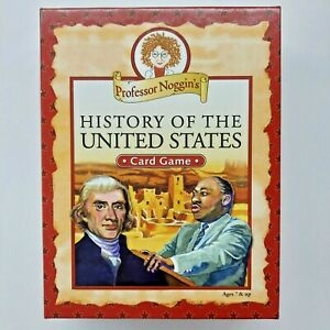 Professor Noggin's History of the United States Card Game [Excellent Condition]